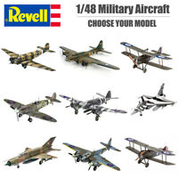 Revell 1:48 Military Plastic Model Kit - Kit Choice