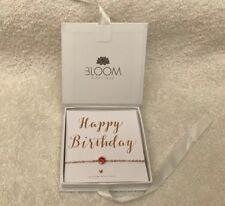 BLOOM Birthstone Rose Gold Colour Bracelet BNIB