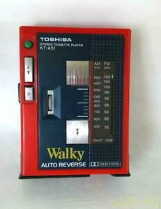 TOSHIBA KT-AS1 [junk] stereo cassette player From Japan