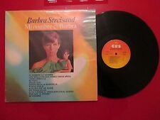 "BARBRA STREISAND ""Mi nombre es Barbra"" MEGARRARE COVER Spain 1975 LP"