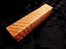Figured Spotted Gum Wood Knife Blocks x 2