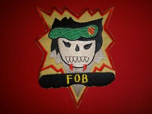 Vietnam War Patch US 5th Special Forces Group FORWARD OPERATION BASE (FOB)