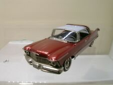 CONQUEST MODELS No.6 IMPERIAL CROWN 4DR.HT.1957 DEEP RUBY MET/MIST GREY 1:43 N/M