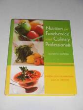 NUTRITION FOR FOODSERVICE and CULINARY PROFESSIONALS by Brefere 7e 2009 NEW $135
