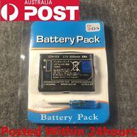 New Rechargable Battery Pack for Nintendo 3DS 3.7V 2000mAh
