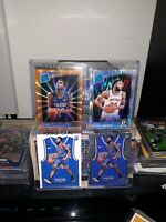Mitchell Robinson Rookie Lot (4) Threads Jersey Drizzle No.159 Threads Jersey...