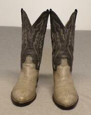 """Abilene Western Cowboy Soft Leather Riding Casual boots men's 8D """"Made in USA"""""""