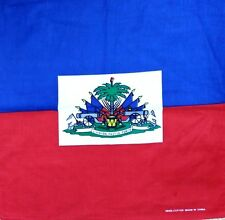 HAITI FLAG BANDANA 12PCS 100% COTTON HEADWEAR SCARF WHOLESALE VA173-18