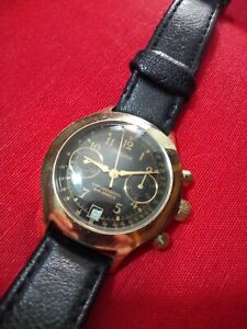 Vintage Russian Watch Poljot 70s Morellato Strap