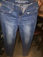 AMERICAN EAGLE OUTFITTERS HI RISE JEGGING SUPER STRETCH WOMENS JEANS SIZE 2 NWOT