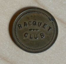 Vintage Racquet Club Trade Token Good For 5 Cents In Trade