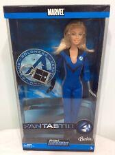 Marvel Fantastic 4 Invisible Woman Barbie J0869
