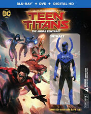 TEEN TITANS: THE JUDAS CONTRACT (Deluxe edition) - BLU RAY - Region free
