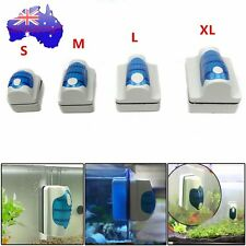 Magnetic Floating Clean Brush Aquarium Fish Tank Glass Algae Scraper Cleaner HC#
