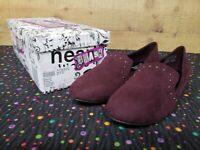 Brash 178593 DILLY Violet Women's Flat Shoes Size 7.5 New With Box