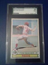 1979 O-PEE-CHEE #44 Tom Seaver SGC  9 Mint - Cincinnati Reds