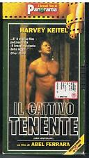 IL CATTIVO TENENTE - BAD LIEUTENANT - ABEL FERRARA - HARVEY KEITEL - 1993 - VHS