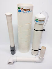 "12"" Bell Siphon Kit for Aquaponics  / Hydroponics! IBC Tote - With Snorkel Tube!"