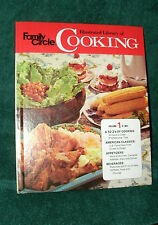 FAMILY CIRCLE ILLUSTRATED LIBRARY OF COOKING VOL #1 A-Bev 1972 HC