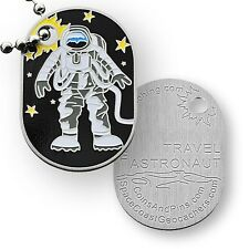 Astronaut Micro Travel Tag For Geocaching (Travel Bug Geocoin)