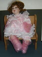 "Designer Guild Collection Porcelain Cloth Doll 22""  Thelma Resch LTD ED 449  NIB"