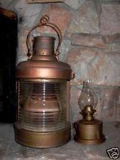 Antique Nautical Maritime Boat Ship Oil Lantern Lamp