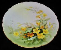 Jean Pouyat Limoges Hand Painted by VALERE Plate for BB&F, Souvenir of Dixieland