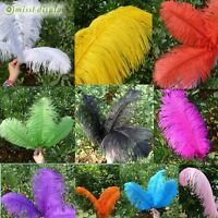 Wholesales 5PCS Ostrich Feather Wedding Party Crafts Decoration Style 10 Colours