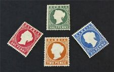 nystamps British Gambia Stamp # 12-15 Mint OG H $33