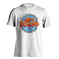 Bill and Teds Wyld Stallyns Band Brothers Official Movie Poster White Men Tshirt