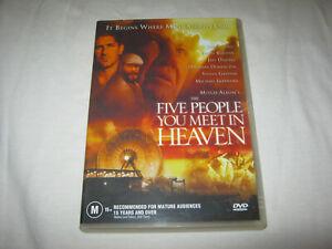 Five People You Meet In Heaven - Jon Voight - VGC - DVD - R4