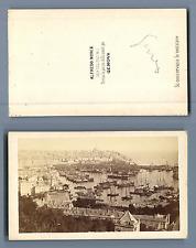 Alfredo Noack, Genova CDV vintage albumen. Vintage Italy. Italia  Tirage album