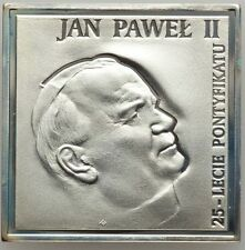 """POLAND  2003  20 ZLOTYCH SILVER COIN,  """"POPE JOHN PAUL II """"  GEM PROOF!"""