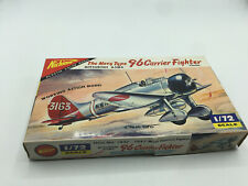 Nichimo Model Plane Mitsubishi A5M4 96 Carrier Fighter 1/72 JC-JL KIT#S7202