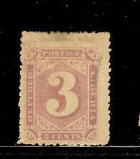 LIBERIA #26  1885  3c  NUMERAL     MINT VF HR  O.G  a