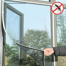 White Door Fly Insect Anti Mosquito Bug Curtain Fly Screen Window Net Mesh