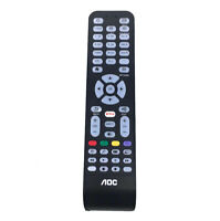 New Replacement Remote Control With Netflix Button For AOC TV 55LE55U7970