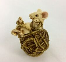 Harmony Kingdom Alexandre Mouse Entangled In Yarn Limited Edition,New With Inf