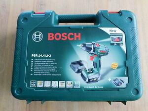 Bosch Akkuschrauber PSR 14,4 LI-2  Li-Ion mit 2 Accus und 13 teiligen Zubehör!