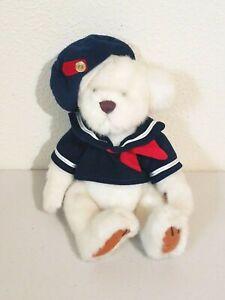 """Brass Button Bear Pickford Bear TAYLOR Bear of Happiness Sailor Plush Bear 11"""""""