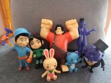 7Pcs Wreck-It Ralph 2 Breaks the Internet Action Figure Toy Dolls Vanellope GIFT