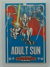 Star Wars Celebration Europe Adult Sun show pass 2007