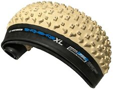 26x4.8 Vee Tire Snow Shoe XL Studded Fat Tires FB White Pure Silica Compound