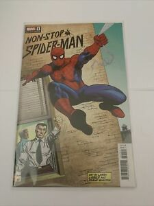 NON-STOP SPIDER-MAN #1 1:100 LIEBER HIDDEN GEM VARIANT Cover - MARVEL Comics
