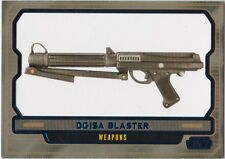 STAR WARS GALACTIC FILES SERIES 2 BLUE PARALLEL #600 DC-15A BLASTER 338/350