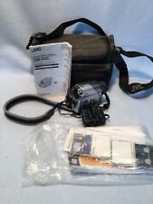 Jvc Gr-D32 Mini Dv Digital Video Camera 16X Optical Zoom Silver Camcorder. Works