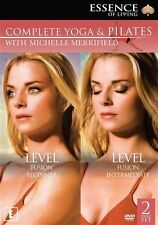 Michelle Merrifield: Complete Yoga and Pilates Collection NEW DVD Region 4 AUST
