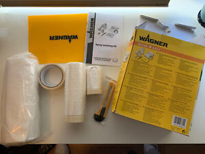WAGNER Quick & Easy Decorators Set - 3X Masking Tape, Knife, 3X Sheets, Board