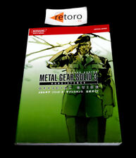 GUIDE BOOK METAL GEAR SOLID 3 SUBSISTENCE Official guidebook JAP PS2 playstation