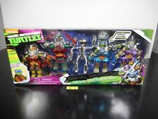 SEALED! TMNT NICKELODEON METAL MUTANTS TURTLES & FUGITOID 5 PACK EXCLUSIVE 42-14